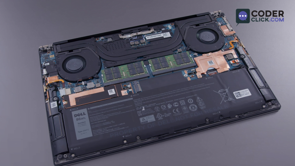 Dell XPS 15 Battery & Internals