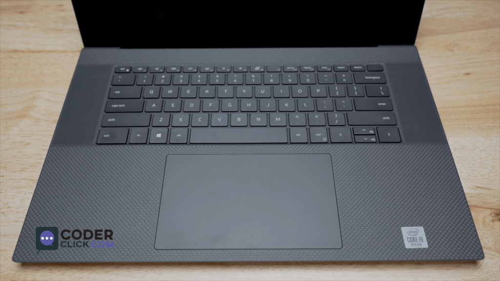 Dell XPS 17 Keyboard and Trackpad