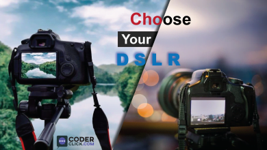 how to choose right DSLR for shoot