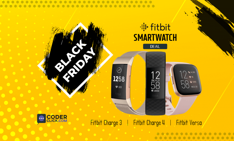 fitbit charge fitbit versa fitbit iconic black friday deal