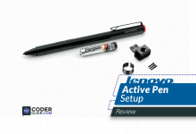 lenovo active pen setup for1and 2