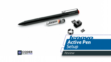 lenovo active pen setup for 1 and 2