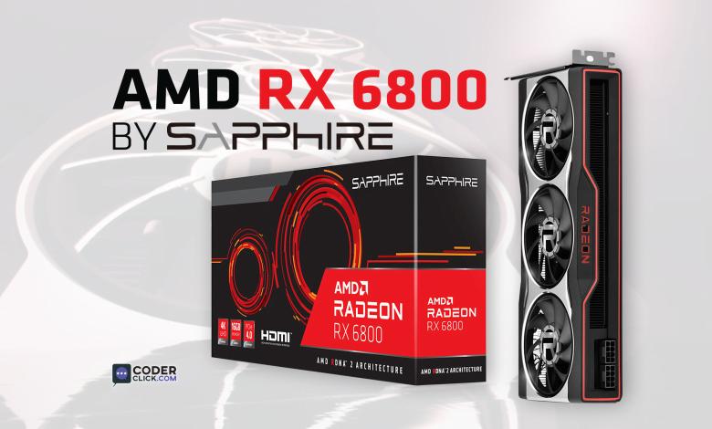 sapphire radeon rx 6800 rx 6800 xt