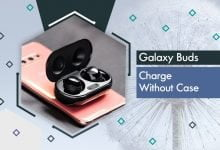 galaxy buds charge without case