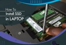 how to install ssd in laptop